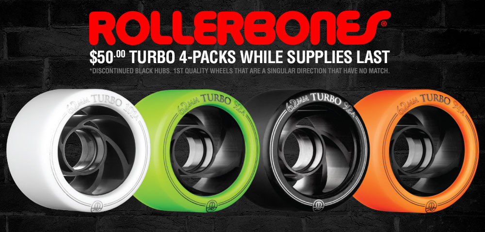 $50 Turbo 4 Packs While Supplies Last