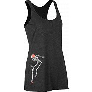 Rollerbones Woman's Derby Tank Top Black