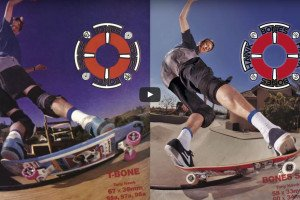 Tony Hawk - Behind the Scenes: BONES WHEELS AD