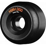 Mini Logo A-cut Wheel 55mm 101a Black 4pk