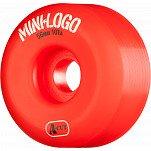 Mini Logo Skateboard Wheel A-cut 56mm 101A Red 4pk