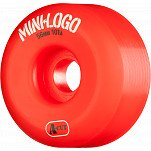 Mini Logo Skateboard Wheel A-cut 56mm 101A Red 4pk