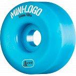 Mini Logo Skateboard Wheel A-cut 54mm 101A Blue 4pk