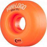 Mini Logo Skateboard Wheel C-cut 52mm 101A Orange 4pk