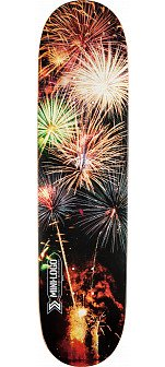 Mini Logo Small Bomb Skateboard Deck 170 Fireworks - 8.25 x 32.5