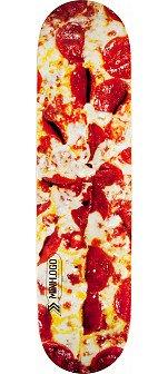 Mini Logo Small Bomb Skateboard Deck 124 Pizza - 7.5 x 31.375
