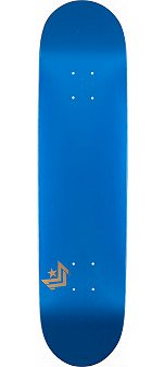 Mini Logo Chevron Skateboard Deck 127 Metallic Blue - 8 x 31.125