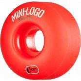 Mini Logo Skateboard Wheel C-cut 53mm 101A Red 4pk