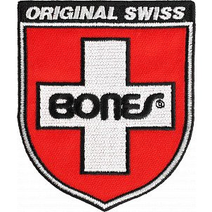 Bones Bearings Swiss Shield Patch Single