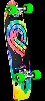 Powell Peralta PPP Tie Dye Cruiser 274 Skateboard Assembly - 8.24 x 25.38