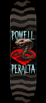 Powell Peralta Cobra Skateboard Deck Blue - 8.25 x 31.95