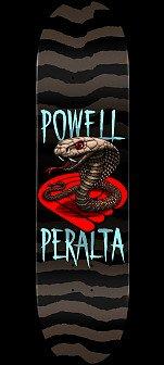 Powell Peralta Cobra Skateboard Deck Blue - 8.25 x 31.95