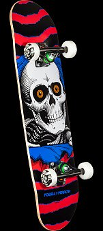 Powell Peralta Ripper One Off Red Assembly - 7.5 x 28.65