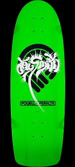 Powell Peralta Jay Smith Original Skateboard Deck Green - 10 x 31