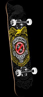 Powell Peralta Skateboard Police Assembly 8 x 32.125