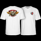 Powell Peralta 40th Anniversary Winged Ripper T-shirt White