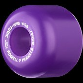Powell Peralta Mini-Cubic 64mm 95a - Purple (4 pack)
