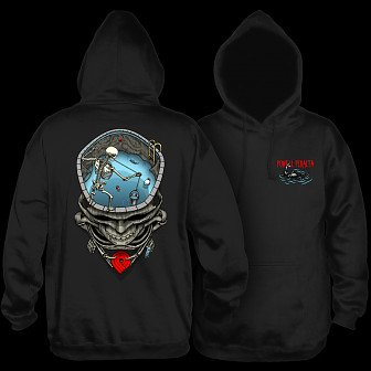 Powell Peralta Pro Mighty Pool Hooded Sweatshirt Black