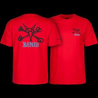 Powell Peralta Rat Bones T-shirt - Red