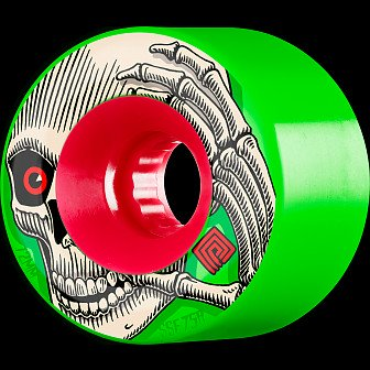 Powell Peralta Soft Slide Kevin Reimer 72mm 4pk Green Wheels