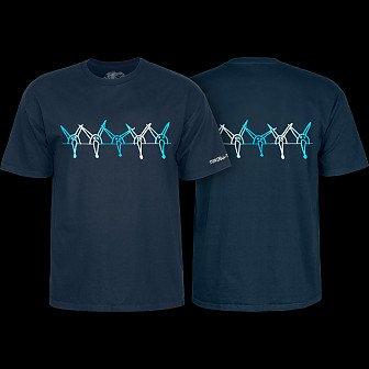 Powell Peralta Vato Rat Band Navy T-Shirt