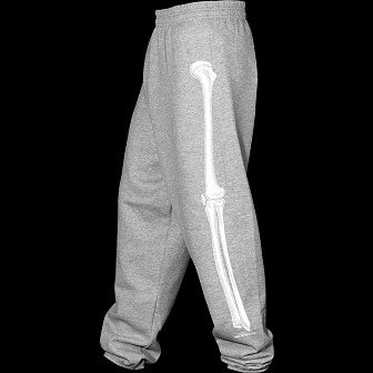 Powell Peralta Leg Bones Sweatpants Heather
