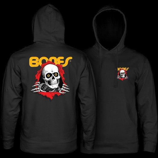 Powell Peralta Ripper Hooded Sweatshirt Black