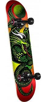 Powell Golden Dragon Knight Dragon 2 Complete Skateboard - 7.5 x 28.65