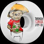 BONES STF Pro Cruz Weedy 51x28 V2 Skateboard Wheel 83B 4pk