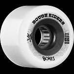 BONES WHEELS Rough Riders 56mm White Wheel 4pk