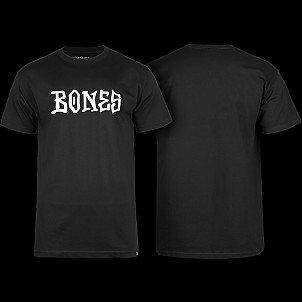BONES WHEELS BW Frontal T-shirt Black