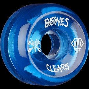 BONES SPF Clear Blue 54x31 P5 Skateboard Wheel 84B 4pk