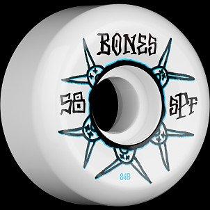 BONES SPF Ratz 58x33 P5 Skateboard Wheel 84B 4pk
