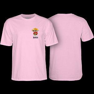 BONES WHEELS Weedy T-shirt Pink