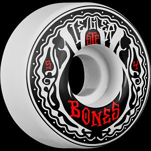 BONES STF Pro Weiger Phillips 54x32 V1 Skateboard Wheel 83B 4pk
