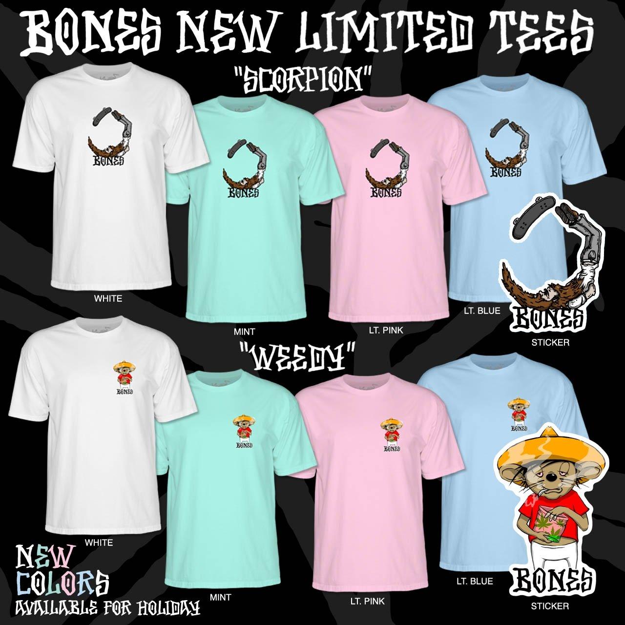 BONES New Limited Tees